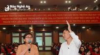Gần 600 sinh viên tham gia Talkshow bí quyết dạy học của PGS.TS Cao Cự Giác