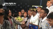Nam sinh trường Phan giành vòng nguyệt quế cuộc thi tháng Đường lên đỉnh Olympia