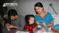 Ấm lòng tủ sữa mẹ miễn phí của cặp vợ chồng người Nghệ