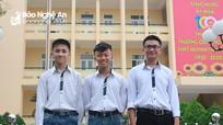 Bí quyết đỗ thủ khoa của 3 chàng trai trường THPT Huỳnh Thúc Kháng