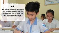Học sinh Nghệ An cấp tập ôn thi lớp 10 trong lo lắng