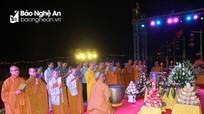Hàng nghìn phật tử tham dự Đại lễ Phật đản tại chùa Đức Hậu