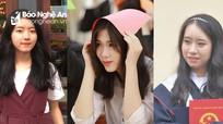 3 nữ sinh Nghệ An giành học bổng Olympic Nga