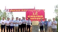 Hợp long cầu 25 tỷ qua sông Hoàng Mai