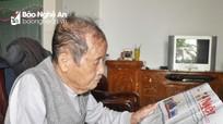 Tấm lòng son sắt với Đảng của cụ ông tuổi 102