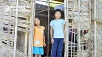 Cám cảnh cuộc sống hai đứa trẻ mẹ đi biệt tích, bố làm ăn xa