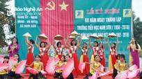 Trường Tiểu học Nam Sơn (Đô Lương) kỷ niệm 60 năm thành lập
