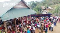 Phiên chợ đầu tiên ở xã xa nhất Nghệ An