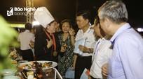 30.000 lượt người đến với Festival Văn hóa ẩm thực du lịch quốc tế Nghệ An