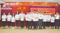 Nghệ An gặp mặt 104 em dự thi học sinh giỏi quốc gia, quốc tế