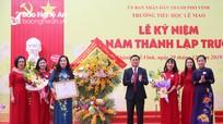 Trường Tiểu học Lê Mao kỷ niệm 30 năm thành lập