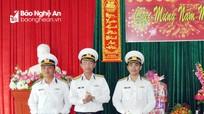 Bộ Tư lệnh Vùng 3 Hải quân thăm, chúc Tết quân, dân huyện đảo Lý Sơn