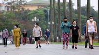 Thành phố Vinh: Không ít người vẫn đến điểm công cộng tập thể dục khi có chỉ thị cách ly xã hội