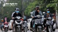 TP. Vinh: Nhà ga, bến xe vắng tanh nhưng đường phố bắt đầu nhộn nhịp trở lại