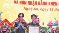 Báo Quân khu Bốn đón nhận Bằng khen của Bộ Quốc phòng