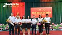 Chi hội Nhà báo Báo Nghệ An đại hội nhiệm kỳ 2020 - 2023