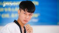 Nam VĐV đầu tiên giành HCV giải Taekwondo trẻ toàn quốc cho Nghệ An