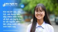 Thanh niên nói gì về cuộc thi tìm hiểu 'Lịch sử tỉnh Nghệ An 990 năm hình thành và phát triển'?