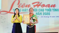 Trao 46 giải thưởng tại Liên hoan Tiếng hát Người cao tuổi tỉnh Nghệ An