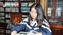 Nữ sinh nghèo ở Nghệ An trở thành Đại sứ văn hóa đọc