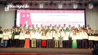 Nghệ An vinh danh 95 tập thể, cá nhân trong phong trào 'Toàn dân đoàn kết xây dựng đời sống văn hóa'