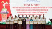 Nghệ An khen thưởng 75 tập thể, cá nhân trong phong trào rèn luyện thể dục thể thao