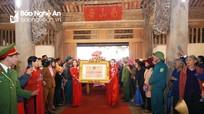 Lễ rước Bằng di tích Quốc gia đặc biệt Đình Hoành Sơn về huyện Nam Đàn