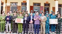 Trưởng Ban Dân vận Tỉnh ủy thăm và chúc Tết tại huyện Tân Kỳ