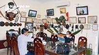 Bộ sưu tập kỷ vật chiến trường của một cựu chiến binh Nghệ An