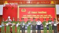 Nghệ An khen thưởng các đơn vị đặc biệt xuất sắc trong phá án ma túy