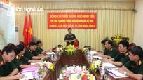 Bộ Tổng Tham mưu thăm và làm việc tại Quân khu 4
