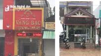 Nghệ An: Xử phạt các chủ cơ sở kinh doanh vàng, ngoại tệ trái pháp luật