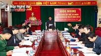 Các huyện, thị xã tổ chức kiểm điểm tập thể lãnh đạo và cá nhân Ban Thường vụ