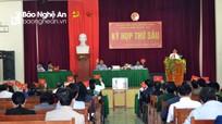 Kết quả lấy phiếu tín nhiệm đối với các chức danh do HĐND huyện bầu ở Đô Lương, Con Cuông