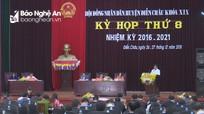 Khai mạc kỳ họp HĐND tại các huyện Kỳ Sơn, Diễn Châu