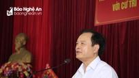 Đại biểu HĐND tỉnh tiếp xúc cử tri tại TX Hoàng Mai, Quỳ Hợp, Nghi Lộc