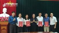 Ban Tuyên giáo Tỉnh ủy Nghệ An điều động, bổ nhiệm 4 trưởng phòng