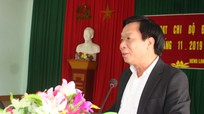 Trưởng Ban Nội chính Tỉnh ủy dự sinh hoạt chi bộ cơ sở ở Quỳ Hợp