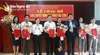 Diễn Châu trao quyết định bổ nhiệm các chức danh mới