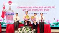 Thủ tướng phê chuẩn kết quả bầu bổ sung 2 Phó Chủ tịch UBND tỉnh Nghệ An
