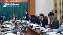 Đồng chí Nguyễn Xuân Sơn chỉ đạo Hội nghị kiểm điểm BTV Đảng ủy Khối Các cơ quan tỉnh