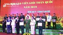 Thí sinh Nghệ An đạt giải Ba Hội thi chung khảo Báo cáo viên giỏi toàn quốc