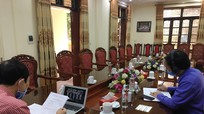 Chi bộ cơ quan Đảng ủy Khối Các cơ quan tỉnh tổ chức sinh hoạt trực tuyến