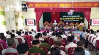 Đại hội Đảng bộ xã Thanh Long (Thanh Chương) nhiệm kỳ 2020 - 2025