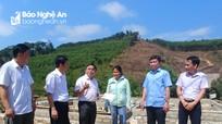 Trưởng Ban Dân vận Tỉnh ủy làm việc tại huyện Quỳ Châu