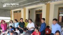 Ban Tuyên giáo Tỉnh ủy khảo sát việc thực hiện Chỉ thị 05 tại huyện Kỳ Sơn