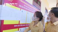 Chủ tịch Ủy ban MTTQ tỉnh kiểm tra công tác chuẩn bị bầu cử tại Quỳnh Lưu