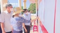 Trưởng ban Dân vận Tỉnh ủy kiểm tra công tác chuẩn bị bầu cử tại  huyện Tân Kỳ