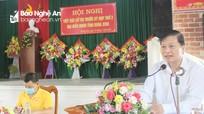 Phó Chủ tịch Thường trực UBND tỉnh tiếp xúc cử tri huyện Anh Sơn