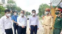Chủ nhiệm Ủy ban kiểm tra Tỉnh ủy kiểm tra công tác phòng, chống dịch tại Yên Thành